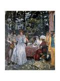 Lunch at Vasouy, 1901 Giclée-Druck von Edouard Vuillard