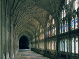 Cloister of Gloucester Cathedral Photographic Print by Peter Thompson
