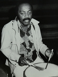 Drummer Roy Haynes at the Capital Radio Jazz Festival, London, 1980 Reproduction photographique par Denis Williams