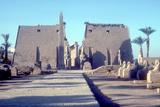Temple Sacred to Amun Mut and Khons (Khonsu), Luxor, Egypt Reproduction photographique par CM Dixon