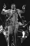 B.B. King, Capital Jazz, Knebworth, 1982 Reproduction photographique par Brian O'Connor