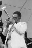 Dizzy Gillespie, Capital Jazz, Alexandra Palace, 1979 Reproduction photographique par Brian O'Connor