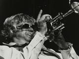 Maynard Ferguson Playing the Trumpet Reproduction photographique Premium par Denis Williams