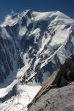 Italian Face of Mont Blanc Reproduction photographique par CM Dixon