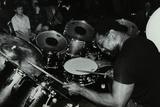 Billy Cobham Conducting a Drum Clinic at the Horseshoe Hotel, London, 1980 Reproduction photographique par Denis Williams