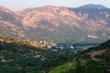 Mountain Scenery, Kefalonia, Greece Fotografisk tryk af Peter Thompson