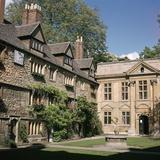 St Edmund Hall in Oxford, 13th Century Reproduction photographique par CM Dixon