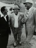 Milt Jackson, Budd Johnson and Major Holley at the Capital Radio Jazz Festival, London, 1979 Reproduction photographique par Denis Williams