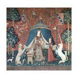 La Dame a La Licorne, 15th Century Reproduction procédé giclée par CM Dixon