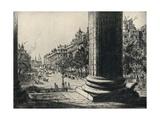 View from the Madeleine, 1915 Giclée-vedos tekijänä Herbert Hillier