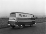 Austin Delivery Van, South Yorkshire, 1962 Reproduction photographique par Michael Walters