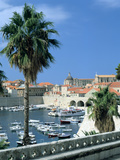 Old Harbour, Dubrovnik, Croatia Photographic Print by Peter Thompson