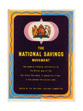 The National Savings Movement, 1951 Giclée-tryk