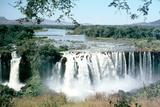 Tississat Falls, Blue Nile, Ethiopia Fotografisk tryk af Vivienne Sharp