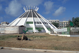 Green Book Building, Benghazi, Libya Fotografisk tryk af Vivienne Sharp
