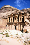 The Monastery, Petra, Jordan Photographic Print by Vivienne Sharp