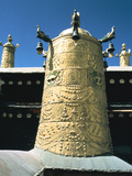 Roof Detail, Jokhang Temple, Lhasa, Tibet Photographic Print by Vivienne Sharp