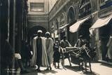 In the Bazaar, Tunis, Egypt, 1936 Stampa fotografica