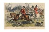 Mr Muffington on Placid Joe (Late Pull Devil), 1865 Lámina giclée por John Leech