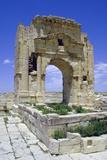 Trojans Arch, Maktar, Tunisia Photographic Print by Vivienne Sharp