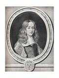 Charles Dorleans, Comte De Dunois, 1660, (1922) Reproduction procédé giclée par Robert Nanteuil