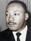 Martin Luther King Jnr, American Black Civil Rights Campaigner, C1968 Fotografisk tryk