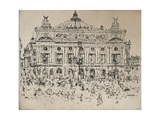 The Opera, 1915 Impressão giclée por John Marin