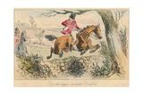 Rot the Beggar Exclaims Romford, 1865 Reproduction procédé giclée par John Leech