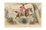Rot the Beggar Exclaims Romford, 1865 Giclée-Druck von John Leech