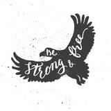 Eagle Lettering Composition Poster di  zapolzun