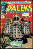 Doctor Who- Daleks Comic Cover Kunstdrucke