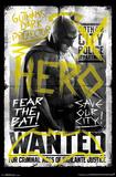 Batman vs. Superman - Fear The Bat Pôsters