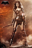 Batman vs. Superman- Wonder Woman Posters