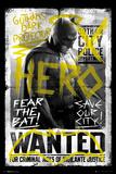 Batman vs. Superman- Batman Wanted Kunstdruck