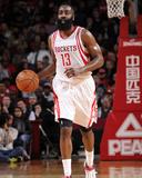 Atlanta Hawks v Houston Rockets Photographie par Bill Baptist