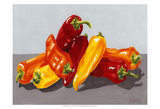 Pepper Collection II Prints by Dianne Miller
