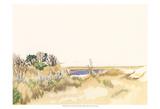 Minimalist Coastline III Prints by Dianne Miller