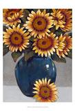 Vase of Sunflowers I Affiches par Tim OToole