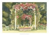 Aquarelle Garden IV Giclee Print by Dianne Miller
