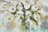 Pure Blanc Tulipa Posters by Amanda J. Brooks