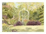 Aquarelle Garden II Giclee Print by Dianne Miller