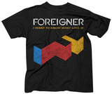 Foreigner- I Want To Know What Love Is T-Shirts