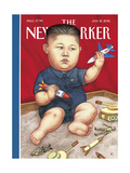 The New Yorker Cover - January 18, 2016 Giclee Print by Anita Kunz