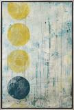 Phase Shift I Ingelijste canvasdruk van Erica J. Vess