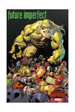 Marvel Secret Wars Cover, Featuring: Hulk Poster