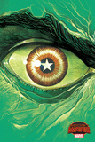 Marvel Secret Wars Cover, Featuring: Hulk Poster