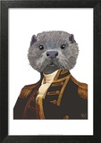 Captain Otter Prints by  Fab Funky