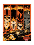 Marvel Secret Wars Cover, Featuring: Ghost Rider Plakat