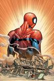 The Amazing Spider-Man No. 18 Cover Plakat av Humberto Ramos