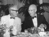 President Eisenhower with Arizona Senator Barry Goldwater Foto
